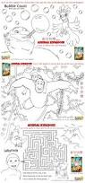 animal kingdom colouring pages and activity sheets