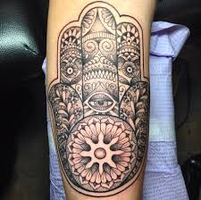 hamsa hand by wes meek tattoo pinterest top tattoos and tattoo