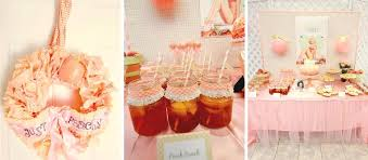 charming peach party decoration coral peach and gold tassel