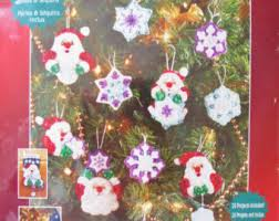 sequin ornament kits etsy