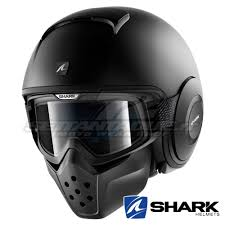 blank motocross jerseys shark raw blank mat open face helmet black settantadue it