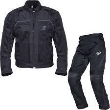 waterproof motorcycle jacket black piston motorcycle jacket atom trousers kit set mesh waterproof