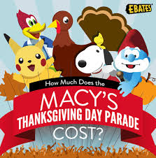 how much does the macy s thanksgiving day parade cost infographic