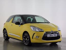 short term car lease europe citroen used citroen ds3 yellow for sale motors co uk