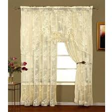 Pine Cone Lace Curtains Lace Curtains Coventry Lace Curtains Rod Pocket And Bottom Hem