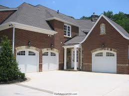 exterior design exciting amarr garage doors for inspiring garage exciting exterior design with brick wall and wall sconces plus white amarr garage doors