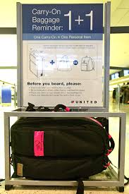 carry on size united airline carry on baggage templates does anyone measure them