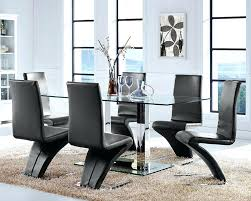 Circular Glass Dining Table And Chairs Glass Dining Table And Chair Sets U2013 Zagons Co