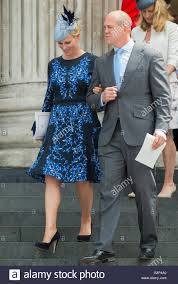 mike tindall and zara attending hm the s 90th birthday