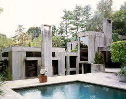 milton klein architect robin roberts u0027 twin ponds residence