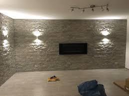 Wohnzimmer Wandgestaltung Wohnzimmer Wandgestaltung Steinoptik Angenehm On Moderne Deko