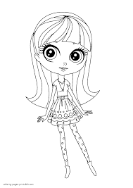 littlest pet shop printable coloring pages littlest pet shop