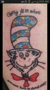 9 best autism tattoos images on pinterest autism awareness back