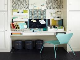 creative of built in desk ideas for small spaces with home office