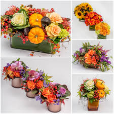 the thanksgiving table flowers decor