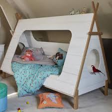 tipi chambre enfant design pin complete alinea blanc sommier chambres personne avec