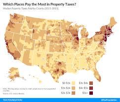 Westchester County Map Which Places Pay The Most In Property Taxes Tax Foundation