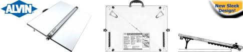 Alvin Drafting Table Portable Drafting Boards Alvin Pxb Drafting Board With Parallel Bar