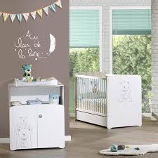 chambre bébé avec lit évolutif chambre bébé complète au meilleur prix sur allobébé