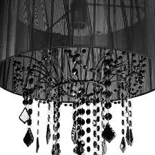 Chandelier Single Amazon Com Tadpoles One Bulb Shaded Chandelier Black Baby