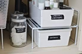 Bathroom Cabinet Organizer Under Sink by Bathroom Storage Drawers Tags Bathroom Under Sink Storage