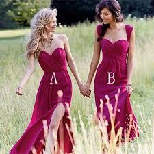 discount bridesmaids dresses best 25 fuschia bridesmaid dresses ideas on bright