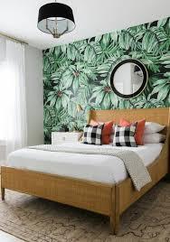 chambre papier peint 1001 modèles de papier peint tropical et exotique