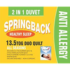 All Seasons Duvet Double Love2sleep Always Fresh All Seasons Duo Quilt Duvet 2 Quilts In