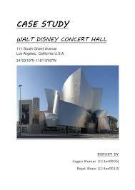 walt disney concert hall case study