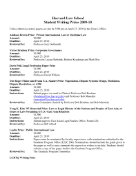 Law Resume Examples by Harvard Law Resumes Resume For Your Job Application