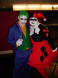 Joker And Harley Quinn Halloween Costumes by Heroes Con Costume Wearers Share Their Identities With Us