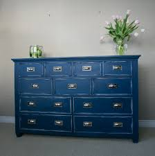 dresser bedroom furniture navy blue dresser painted with annie sloan chalk paint and bedroom