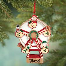 personalized ferris wheel ornament ornament kimball