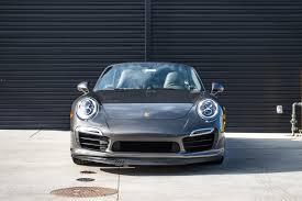 porsche sport classic grey 2015 porsche 911 turbo s for sale in colorado springs co 15181