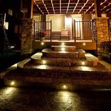 stair lights pavers