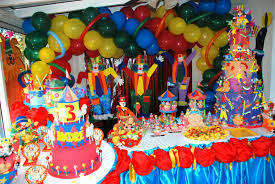 simple birthday decoration ideas homemade circus decoration