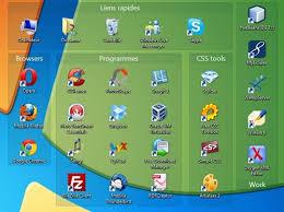 icone de bureau organiser les icônes du bureau