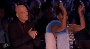 Applause Meme - clapping applause clap agt americas got talent mel b howie mandel