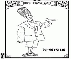 hotel transylvania coloring pages printable games