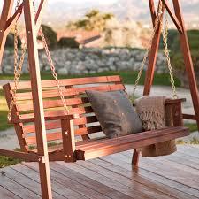 international caravan santa fe 4 ft iron porch swing porch