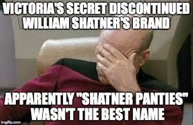 William Shatner Meme - captain picard facepalm meme imgflip