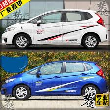 honda car stickers fit honda fit car stickers personalized car stickers pull spend