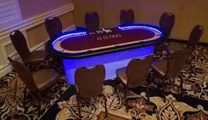 table rentals las vegas hold em table lighted agr las vegas
