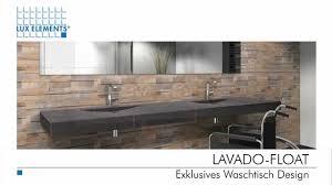 waschtische design elements exklusives waschtisch design