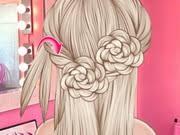 design hair game elsa wedding hair design play the girl game online