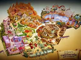 map of california adventure an insider s look at the disney s california adventure changes