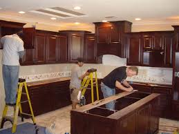 how to install cabinets in kitchen easy installing kitchen cabinets brunotaddei design