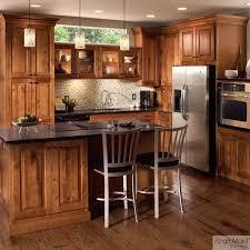 Rustic Birch Kitchen Cabinets  Kraftmaid Durango Rustic - Birch kitchen cabinet