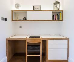 Bespoke Home Office Furniture Bespoke Home Office Desk And Bookshelf Solid Oak Frame With Matt