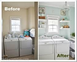 Diy Laundry Room Decor Diy Laundry Room Makeovers The Budget Decorator
